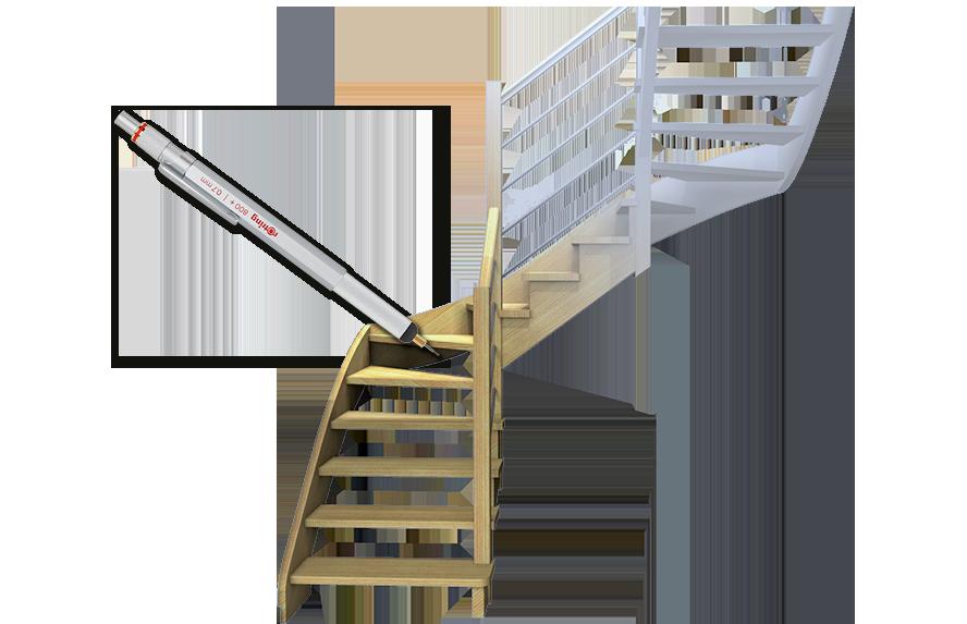 Meslin Batiment Escalier Sur Mesure